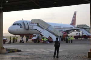 Air India vor dem Flug